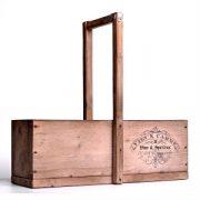 Drevená-debnička-vyrobená-ručne-s-nápisom-Vins-Spiriteux